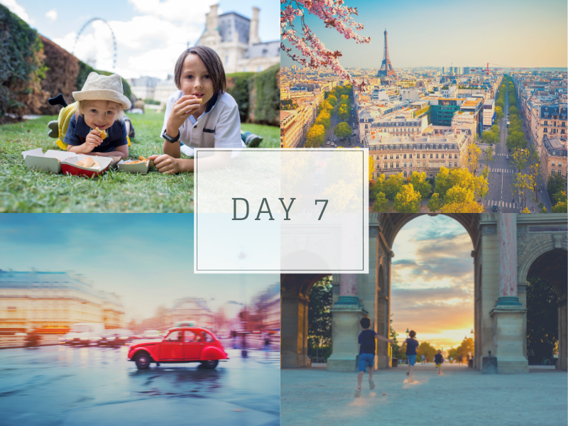 Paris itinerary for families