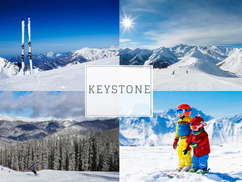 Keystone Colorado skiing with kids