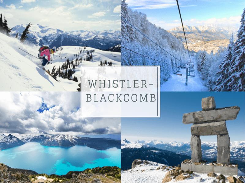 Whistler family friendly ski resort