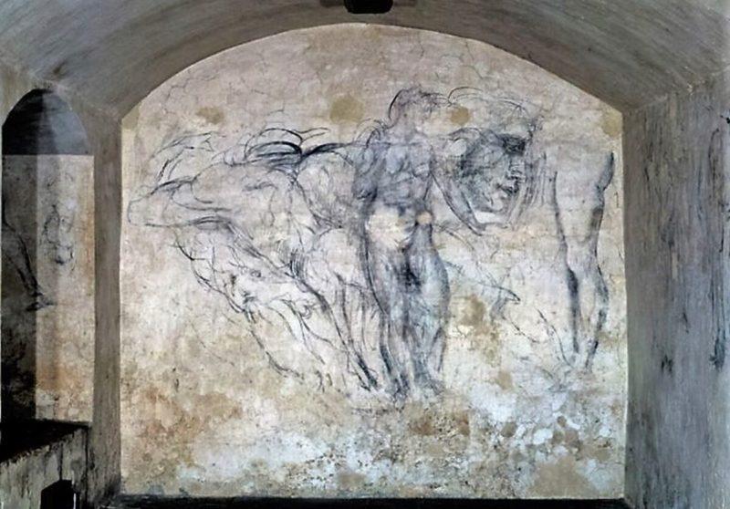 Michelangelo secret archive