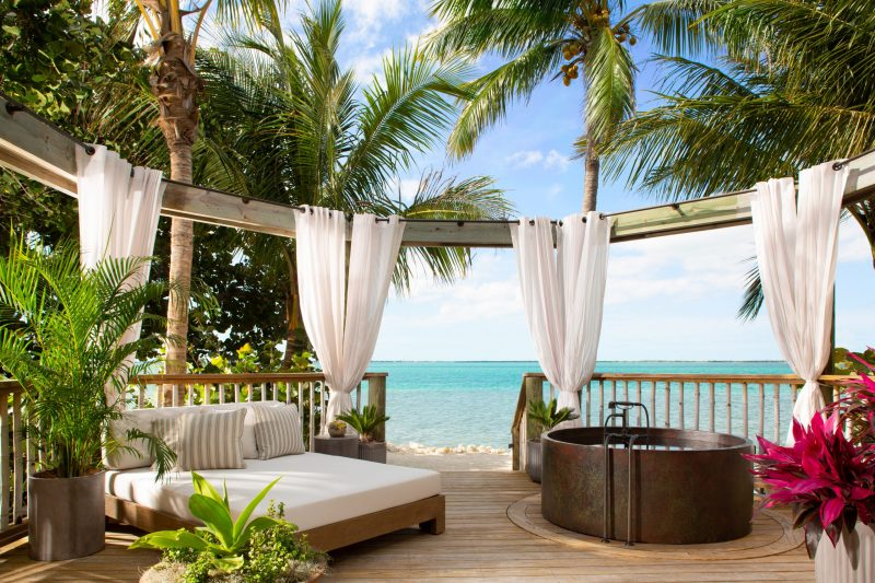 Little Palm Island Romance Suite Balcony