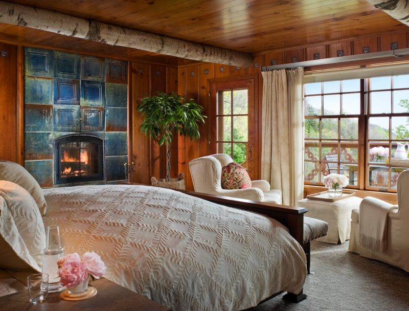 Twin Farms Chalet Bedroom