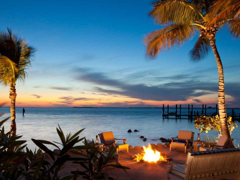 Little Palm Island beach