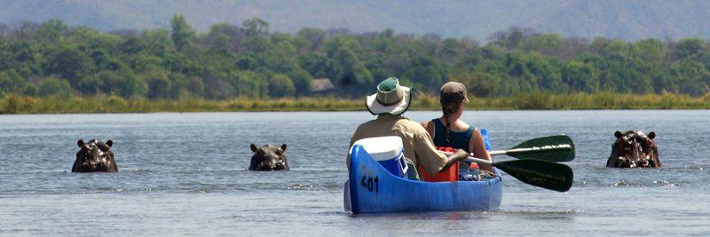 Canoe safari, most unique African safari experiences