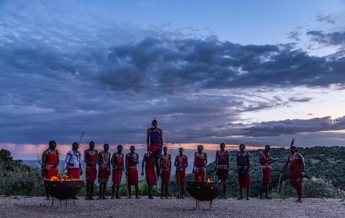 Angama Mara Sunset Boma