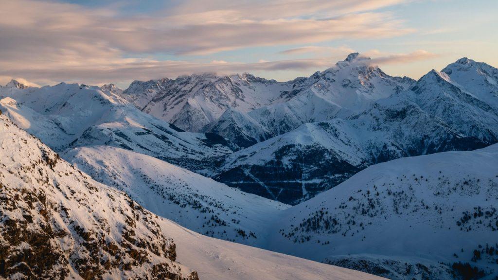 Snow mountain Utah