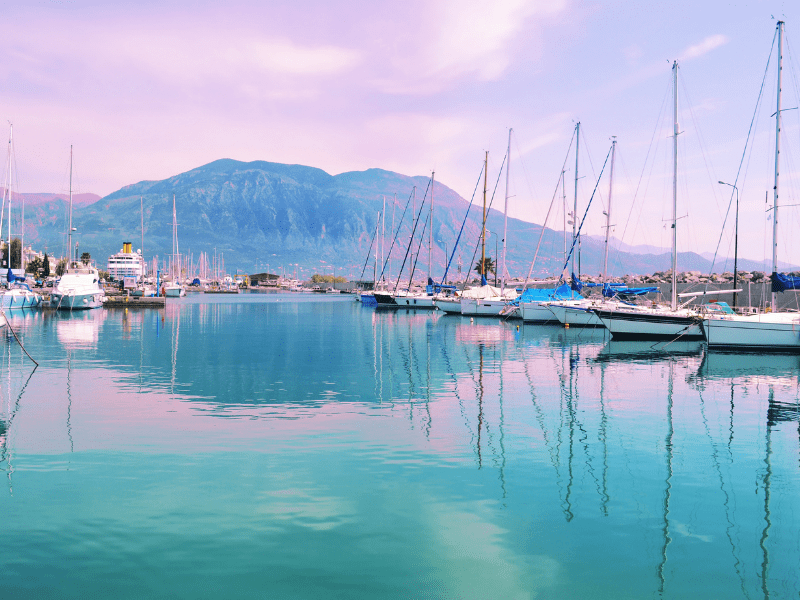 Italy yachts on water