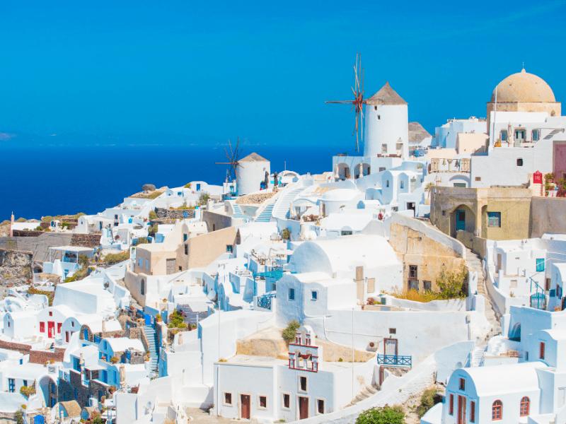 Beautiful sight Greece