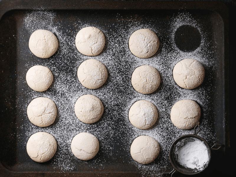 Amygdalota Traditional Greek Almond Cookie