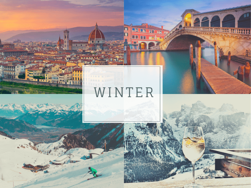 When to travel to Italy Winter