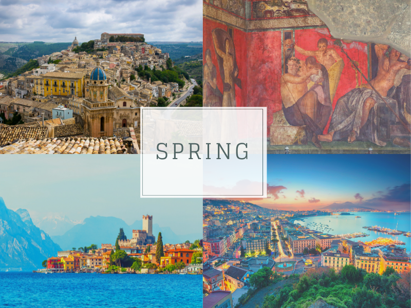 When to travel to Italy Spring