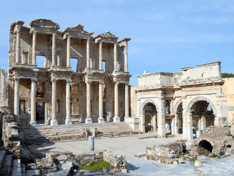Ephesus Turkey Greece