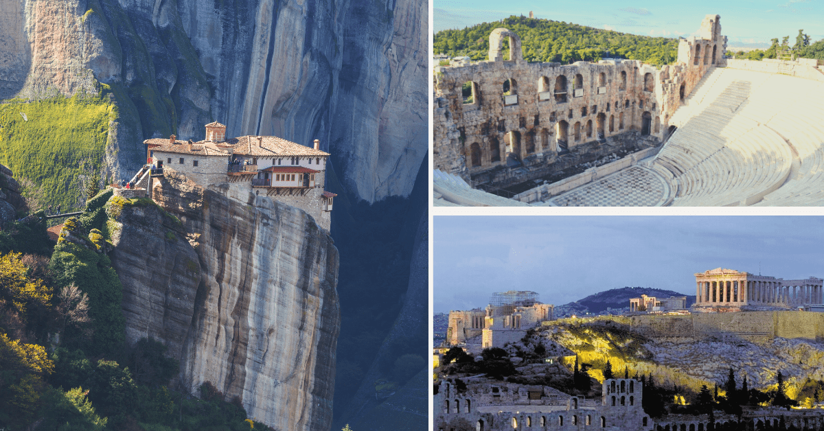 fascinating ancient sights in Greece