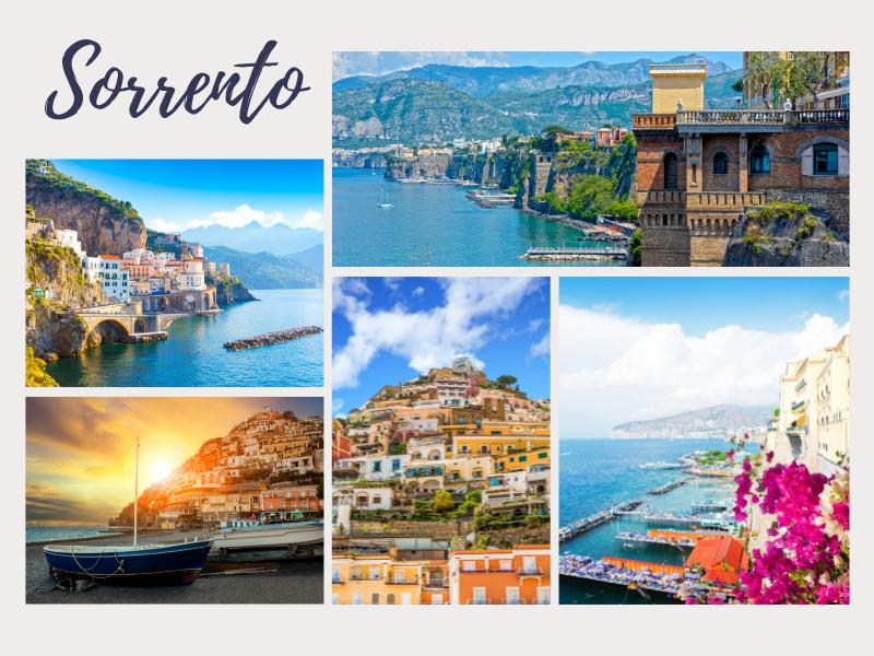 Sorrento romantic couples getaway europe