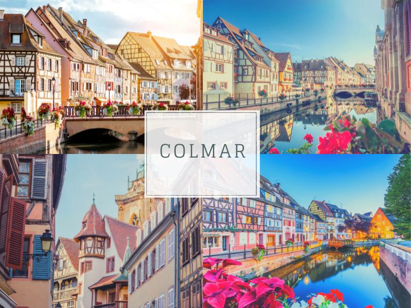 Most Romantic Villages in France, Colmar