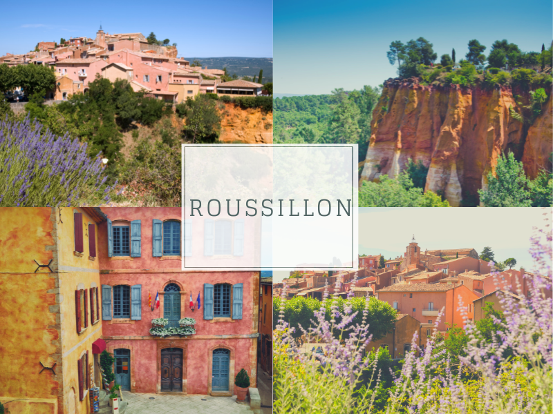 Most Romantic Small towns in France, Roussillon