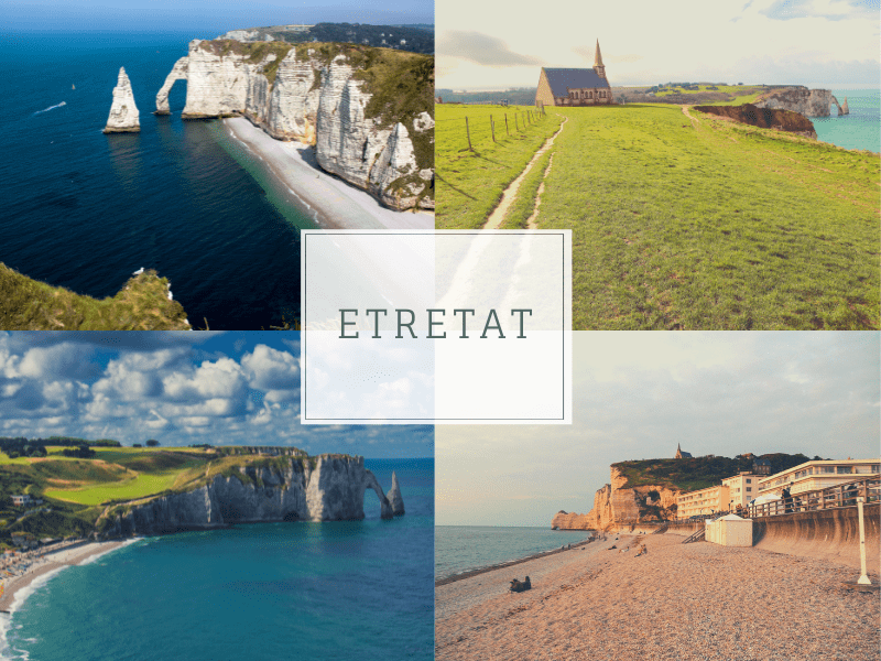 Most romantic seaside town France, Etretat