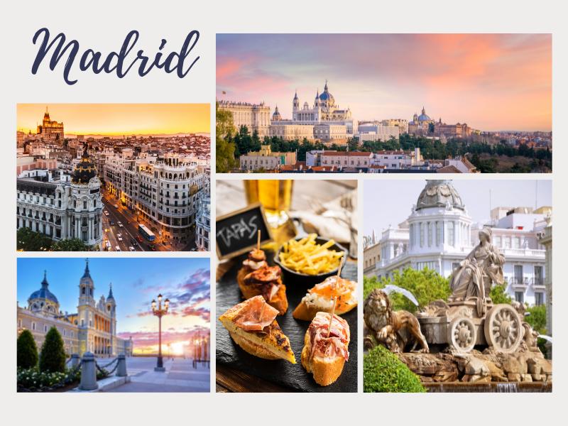 Madrid romantic long weekend