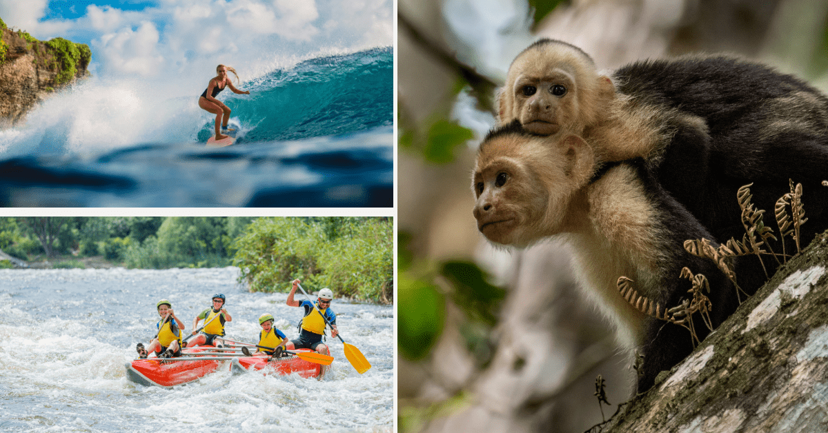 Costa Rica one week itinerary for adventurous travelers