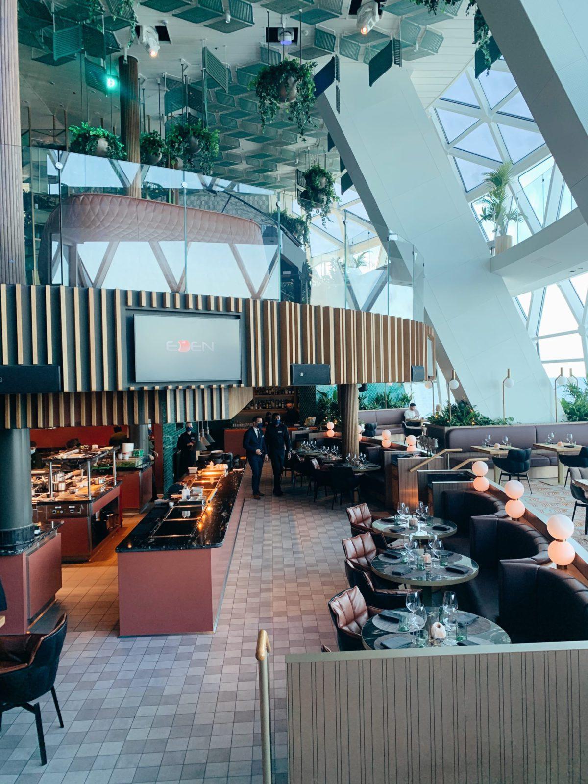 Eden Restaurant Dining Area