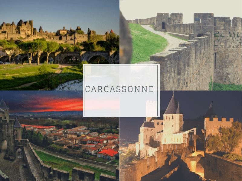 Carcassonne France Romantic Town