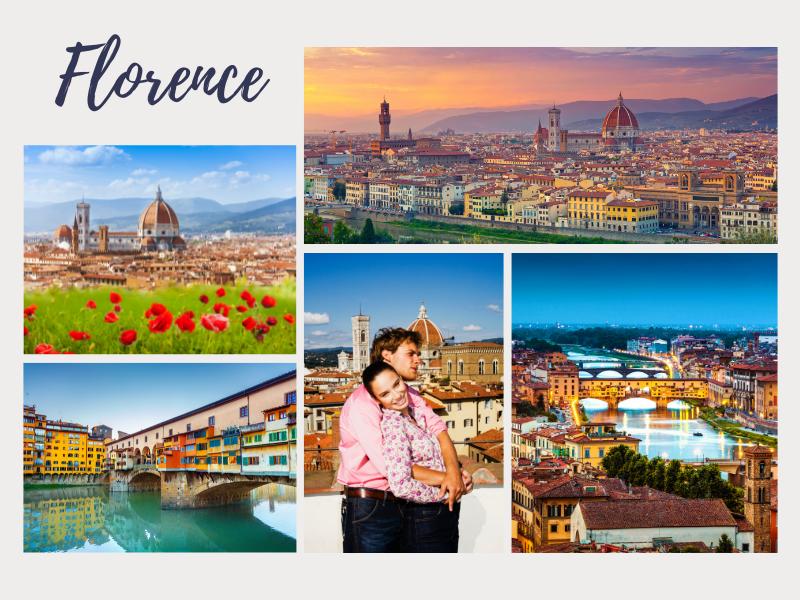 Romantic Florence long weekend
