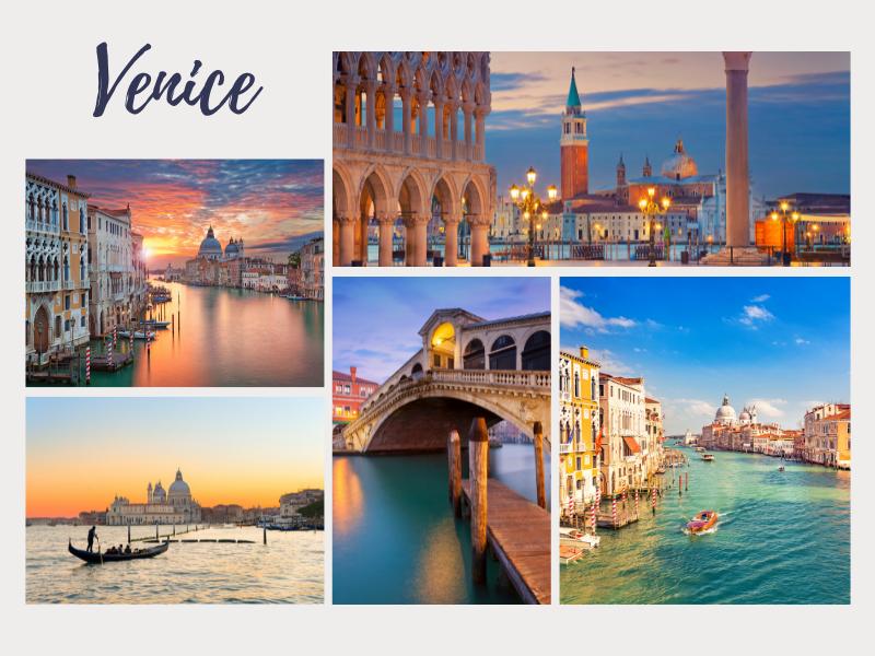 Romantic getaway Venice