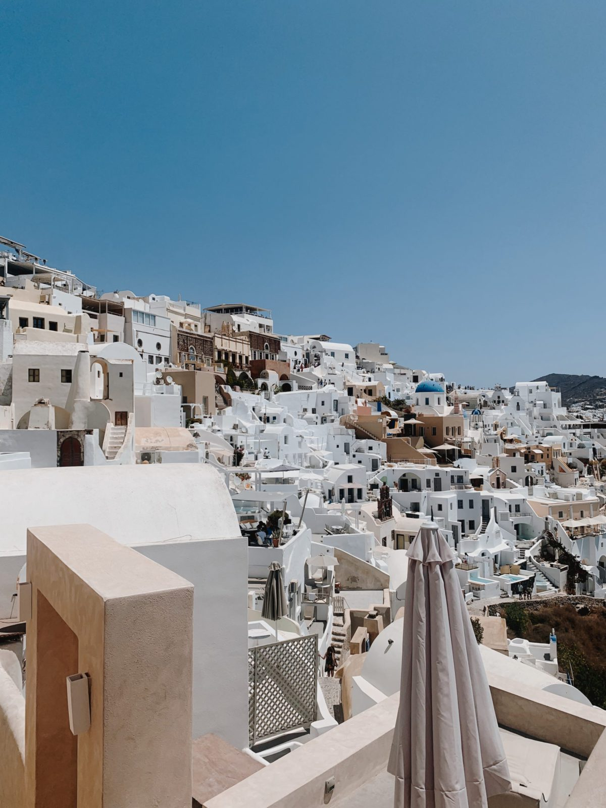 View of Santorini, Greece